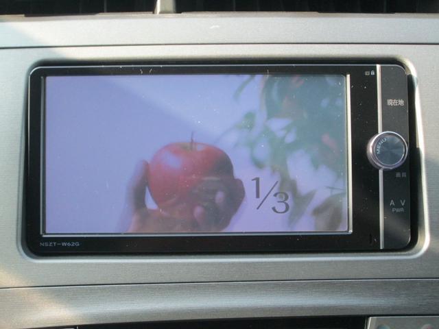 トヨタ プリウス S SDナビ フルセグTV バックカメラ