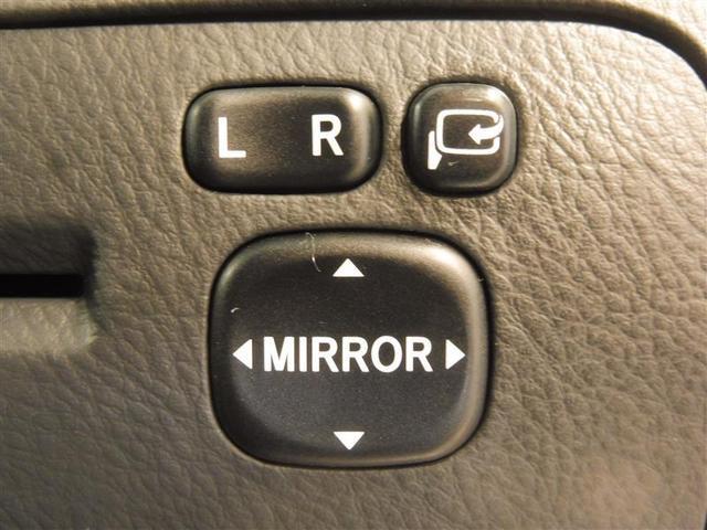 駐車時や狭い道でのすれ違い時に気を使うミラー。電動格納式ドアミラーはそんな時に便利です。