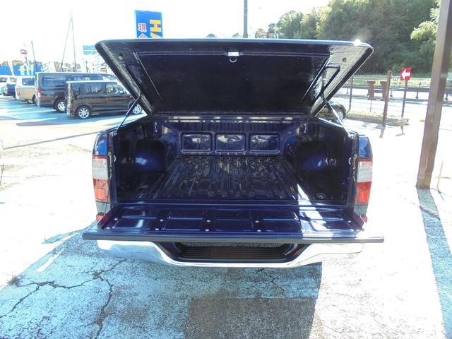 Wキャブ ワイド 4WD ハードトノカバー ブラックホイール(10枚目)