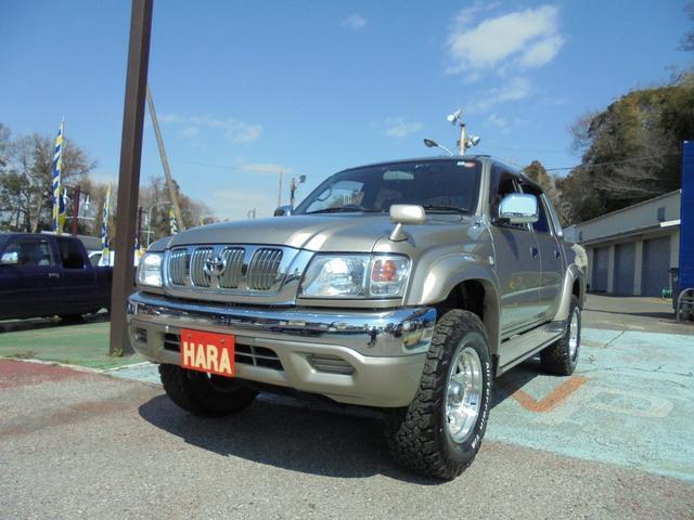 ダブルキャブ ワイド 4WD サンルーフ メッキバンパー(16枚目)