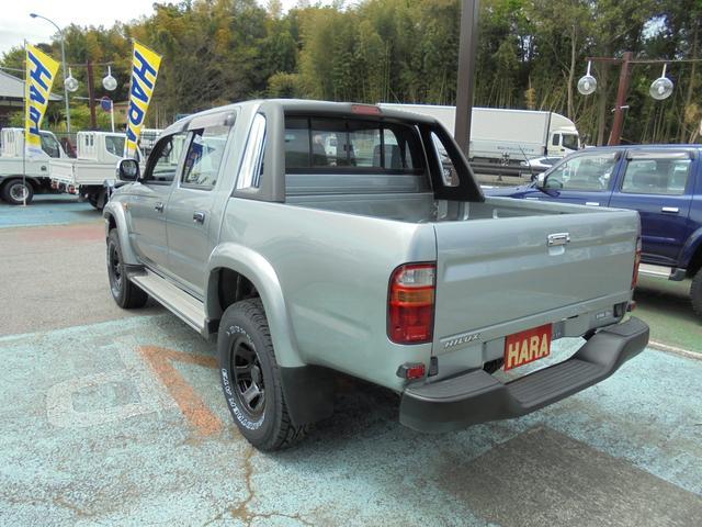 ダブルキャブ ワイド4WD 新品タイヤ ステップバンパー(7枚目)