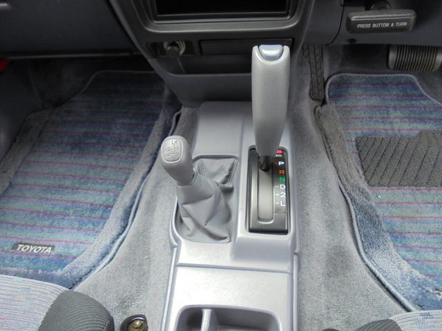 ダブルキャブ ワイド4WD 新品タイヤ ステップバンパー(11枚目)