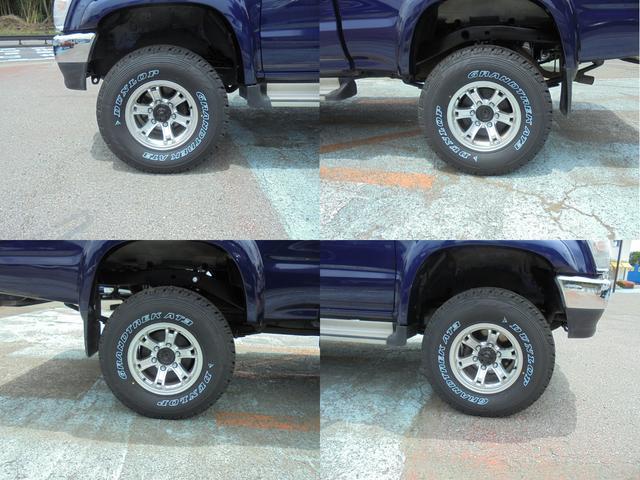 エクストラキャブ ワイド4WD サンルーフ 新品タイヤ(5枚目)