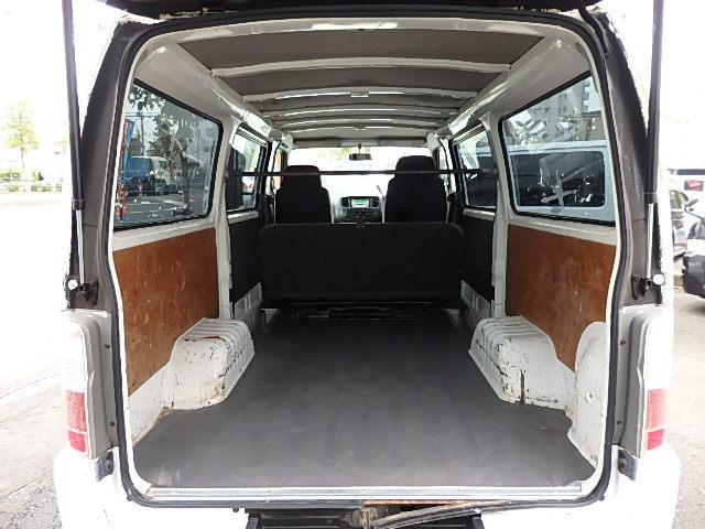 日産 キャラバン ロングDX 5ドア ETC キーレス 低床