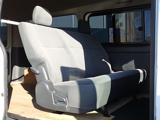 トヨタ レジアスエースバン ロングスーパーGL 3型 白 キーレス ナビ