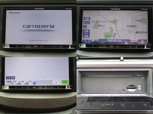 カロッツェリアメモリーナビ&CD&MP3&SDの組み合わせ
