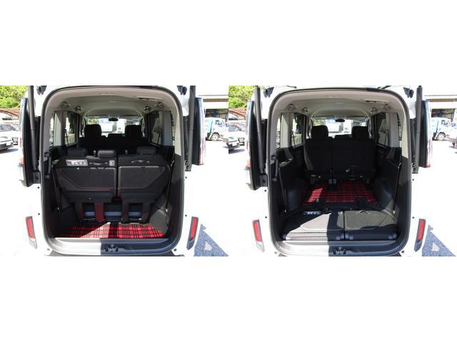 ラゲッジルーム サードシートを左右格納すれば、大きなスペースを確保出来ます。