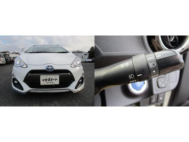 コンライト(オートライト)付LEDヘッドライト&LEDフォグランプの組み合わせで、夜間の視認性も抜群です。