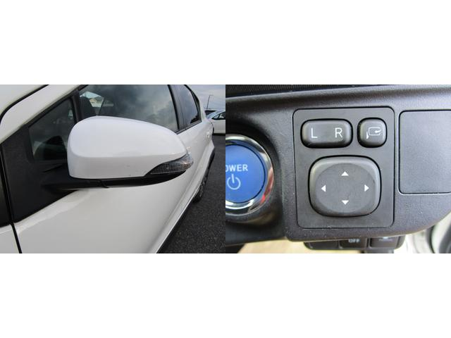 視認性の良いサイドミラーウインカー付ドアミラー&自動格納ドアミラーの組み合わせ