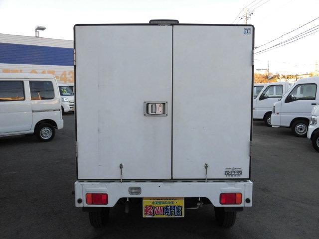スズキ キャリイトラック 冷凍-5度設定