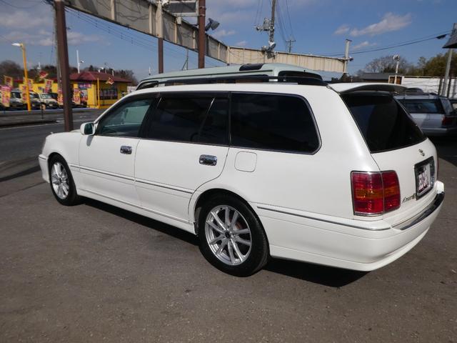 トヨタ クラウンエステート アスリートV TURBO  新品17インチホイル&タイヤ
