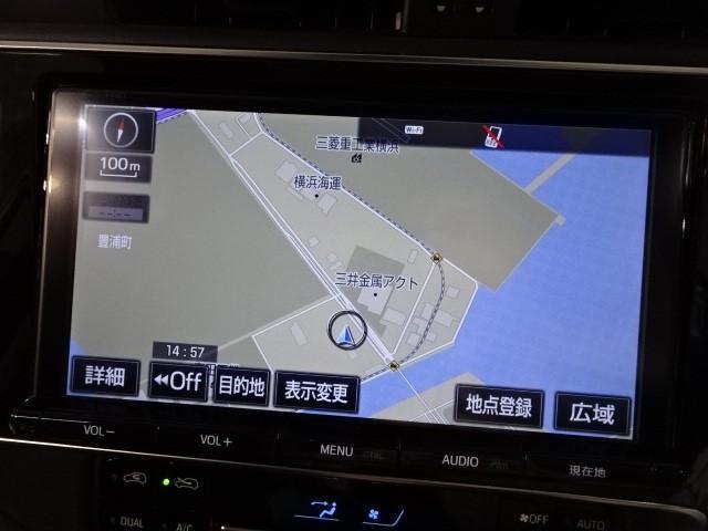ハイブリッド当社デモカー 大型ナビ 自動ブレーキ ドラレコ(12枚目)