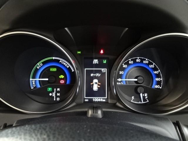 ハイブリッド当社デモカー 大型ナビ 自動ブレーキ ドラレコ(18枚目)