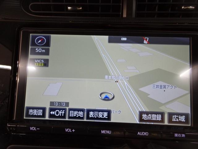 トヨタ アクア S スマートキー プリクラッシュシステム付 ドラレコ