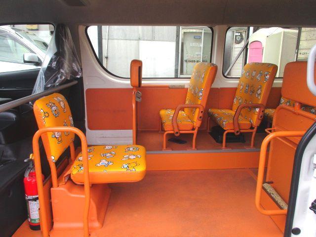 幼児バス オートステップ SDナビ Bカメラ ドライブレコーダー 普通免許(11枚目)