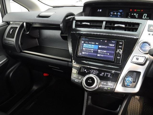 トヨタ プリウスアルファ S SDナビ フルセグTV LEDヘットライト