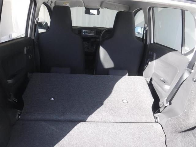 可倒式シート採用で、大きな荷物や多い時でも簡単に変更が可能です。