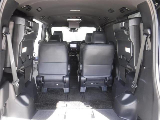 Gi ブラックテーラード セーフティセンスC クルーズコントロール シートヒーター 両側パワースライドドア メモリーナビ 後席モニター LEDヘッドライト ETC オートエアコン 純正アルミホイール メッキ加飾ドアミラー(16枚目)