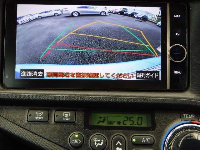 トヨタ アクア G 純正ナビ フルセグTV LEDライト ワンオーナー