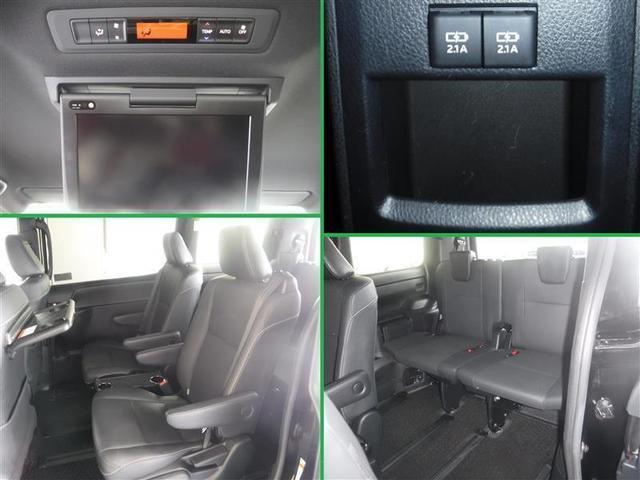 Gi 合成皮革・LEDヘットライト・10インチナビ・後席ディスプレイ・ETC(2.0)・両側電動スライドドア・リヤエアコン・4WD・オートクルーズコントロール・CD・DVD再生機能・記録簿・衝突軽減機能(14枚目)
