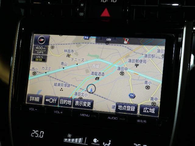 トヨタ純正のSD ナビ装備です。遠方へのドライブや初めての道でも、カーナビさえあれば安心して目的地まで案内してくれますね!最新版の地図への更新も承っております。お気軽にご相談くださいませ。
