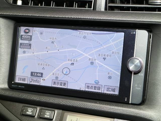 トヨタ アクア G SDナビ・ETC・バックモニター・スマートキー