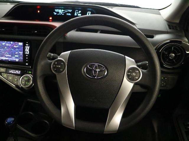 トヨタ アクア S SDナビ・フルセグ・Bカメラ・ワンオーナー
