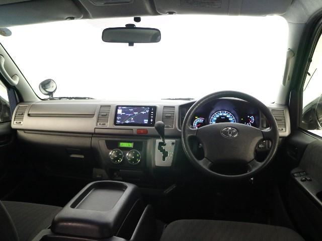 トヨタ ハイエースバン ロングスーパーGL SDナビ・ETC・フルセグ