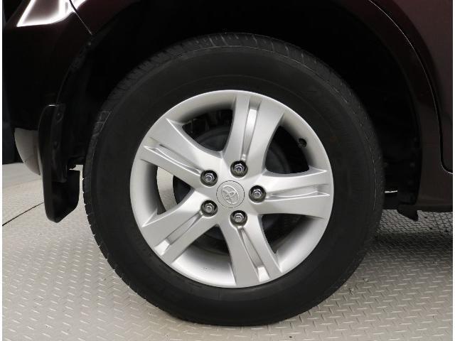 純正アルミホイール。タイヤサイズ215/65R16