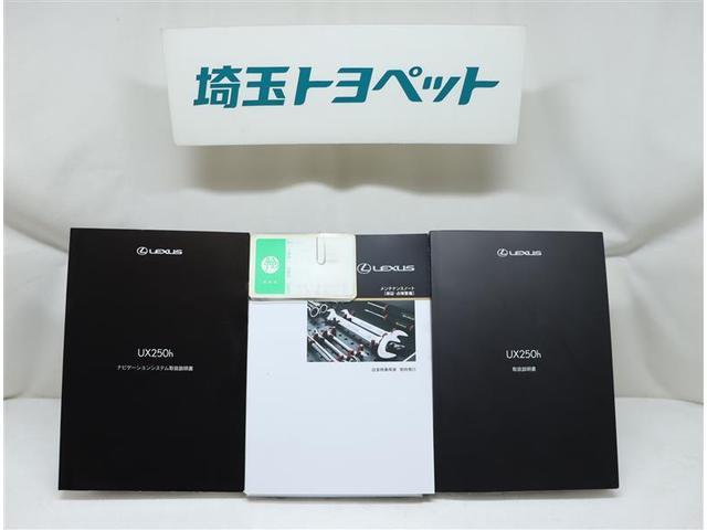 UX250h バージョンL 革シート サンルーフ フルセグ メモリーナビ DVD再生 ミュージックプレイヤー接続可 バックカメラ 衝突被害軽減システム ETC LEDヘッドランプ ワンオーナー 記録簿(15枚目)