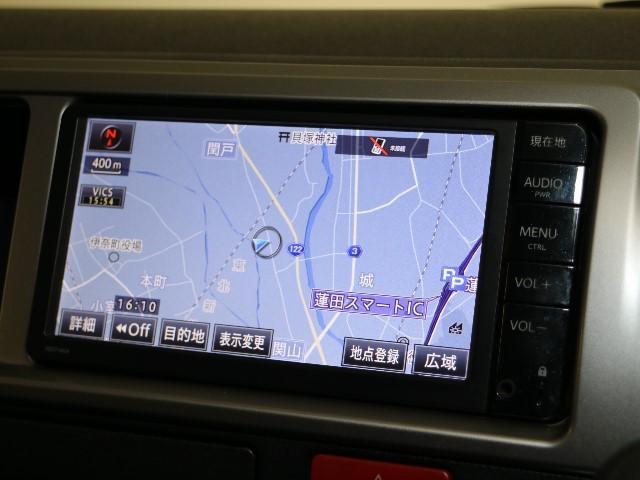 トヨタ ハイエースワゴン GL メモリーナビ