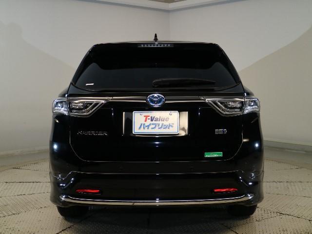 トヨタ ハリアーハイブリッド プレミアム アドバンスドパッケージ・本革シート・ムーンルーフ