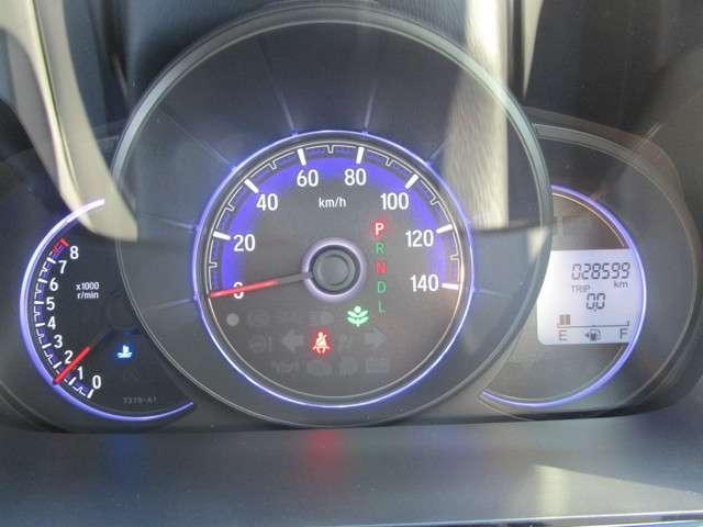 見やすいメーターですよ。ドライブが快適です。是非運転席に座ってみてください。