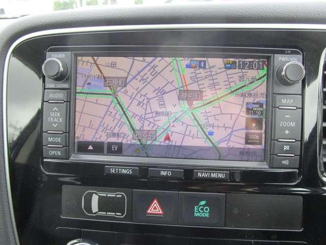 Gナビパッケージ 4WD ハイブリッド車 純正メモリーナビ バックカメラ フルセグTV e-Assist 自動(衝突軽減)ブレーキ 追従クルーズ AC100V/1500W電源 ETC HIDライト ワンオーナー ABS(5枚目)