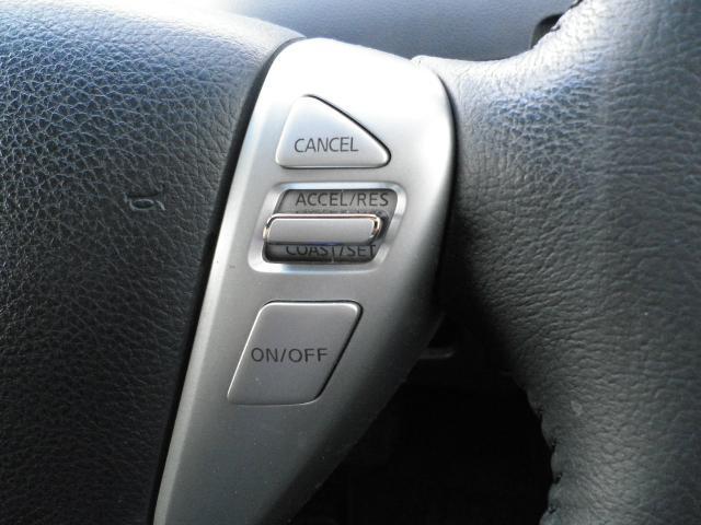 便利なクルーズコントロール機能付き。高速道路走行時の疲労軽減に役立ちます。