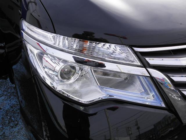 明るいLEDヘッドライト装備。暗い道や天候の悪い日も視界良く運転できます。