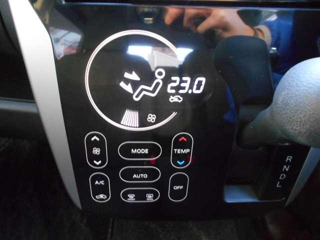 設定した温度に自動制御のオートエアコンで快適な室内空間!