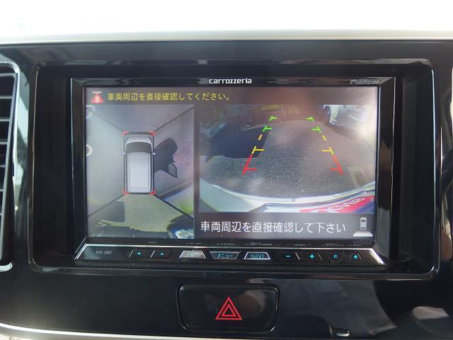 アラウンドビューモニターも装備しており、駐車もらくらく。