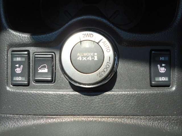 4WD切り替え シートヒーター