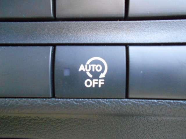 ガソリン消費節約に役立つ、アイドリングストップ機能!