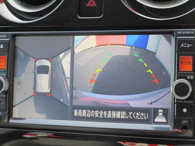 ☆アラウンドビューモニターが駐車をアシスト☆4つの高解像度カメラで車の周囲を撮影ミニバンなどの死角の駐停車も驚く程に楽々です。