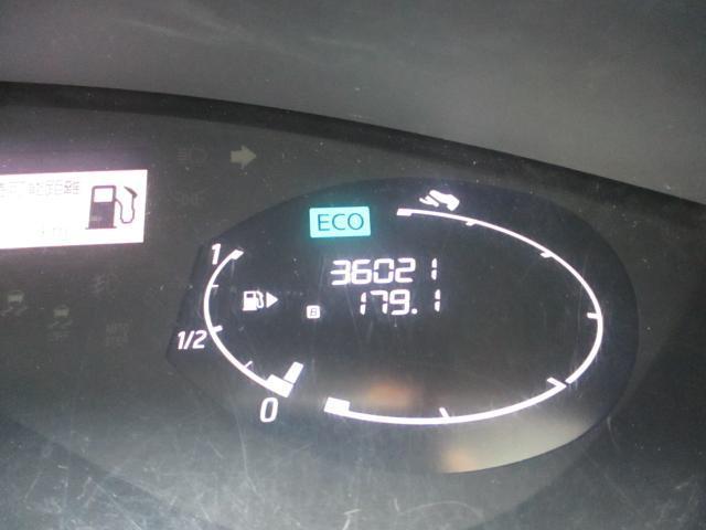 走行距離36021kmです。