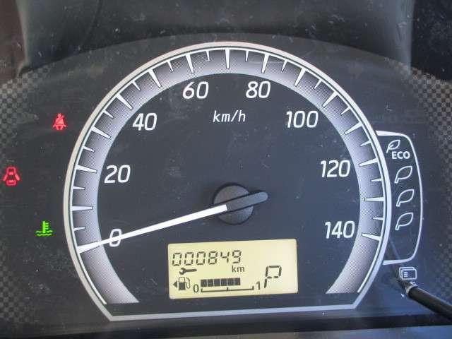 走行距離849kmです。