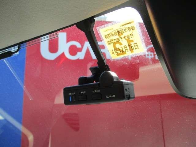 オプションのドライブレコーダー付!!ナビゲーションと連動しています。