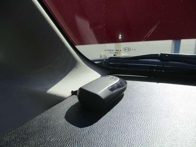 超音波式セキュリティ付です。盗難防止に役立ちます。