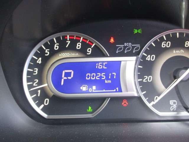走行距離2517kmです。