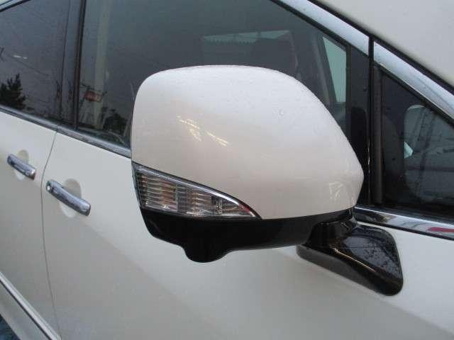 ウインカー付ドアミラーですので、対向車からの視認性が良いです。