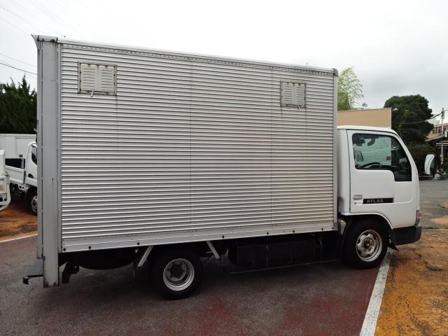 日産 アトラストラック 1.1t積載10尺アルミバン 上方開きフォールディングドア