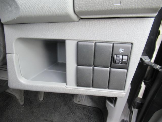 ヘッドライトの高さを、ご自分で調節できます!! お荷物を多く積んだときなど便利です