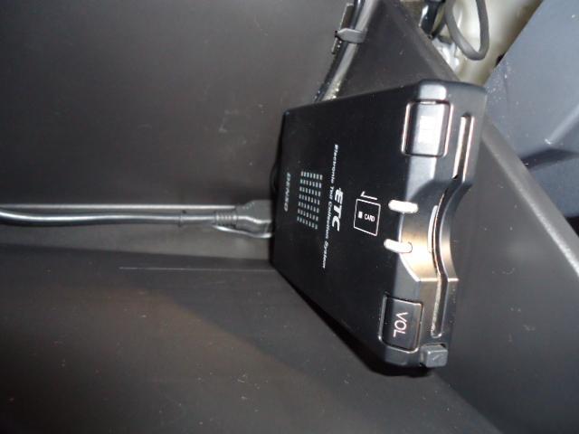今やドライブの必須アイテムです。ETC装着済みです。